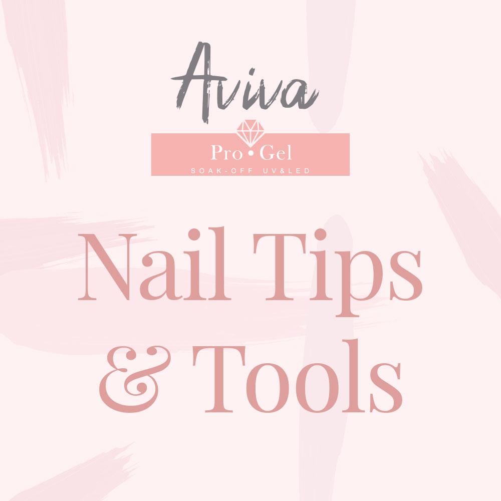 Nail tips and tools
